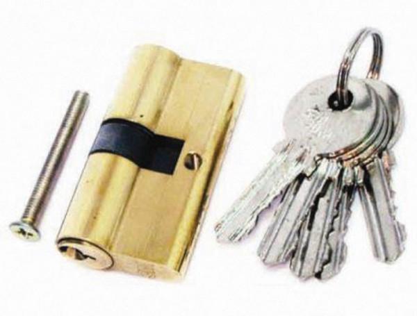 530309 Патрон за брава 60мм с 3 ключа