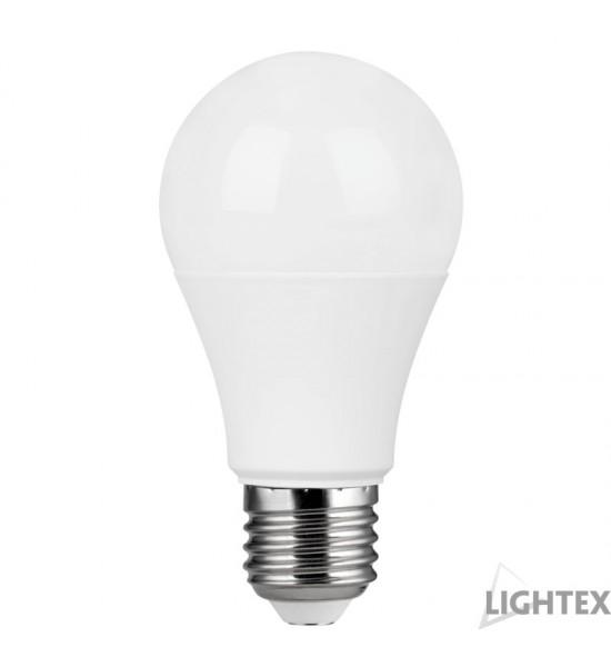 LED Лампа A60 9W 220V E27 CW 6500K 810lm DOB драйв