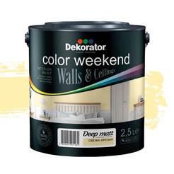Цветен латекс Color Weekend 2.5л Свежа фреезия 020