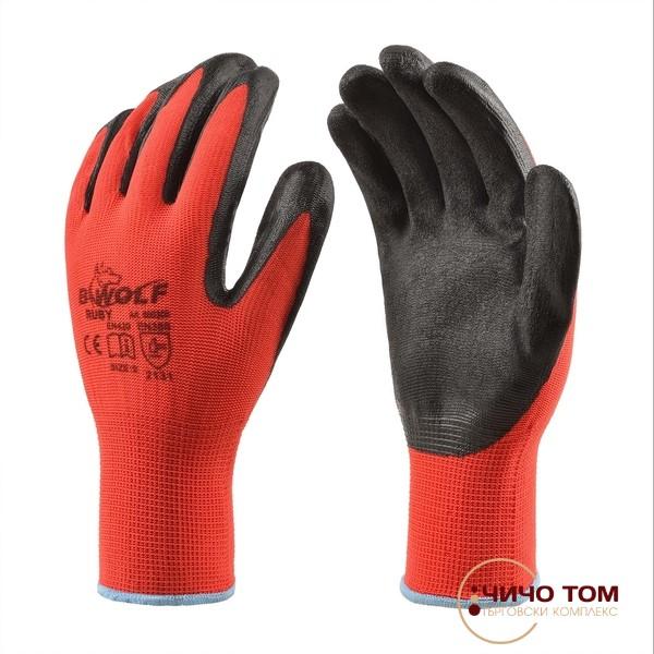 Ръкавици Ruby /черено и червено /600300