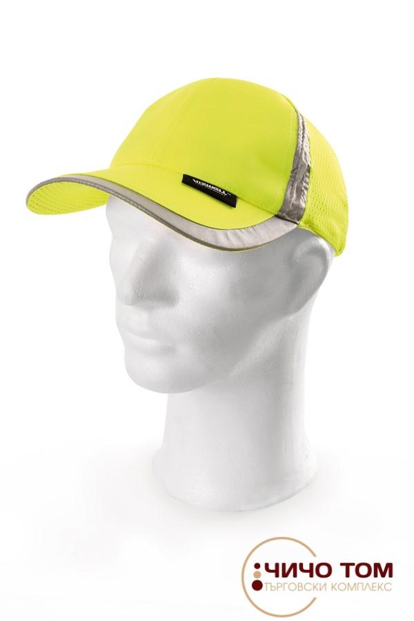 Светлоотразителна шапка с козирка /211327