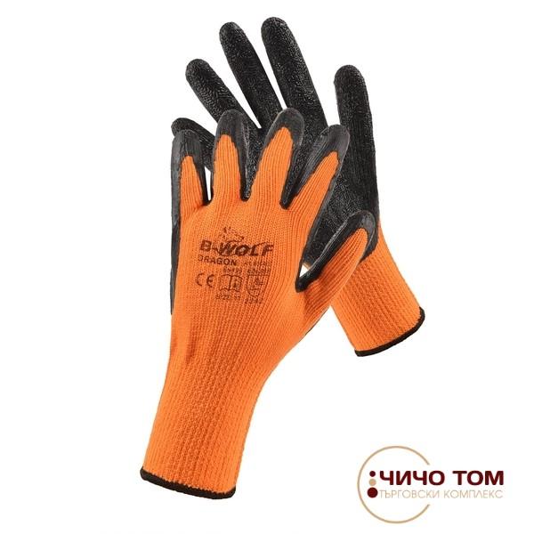 Ръкавици DRAGON /черно и оранжево /600400