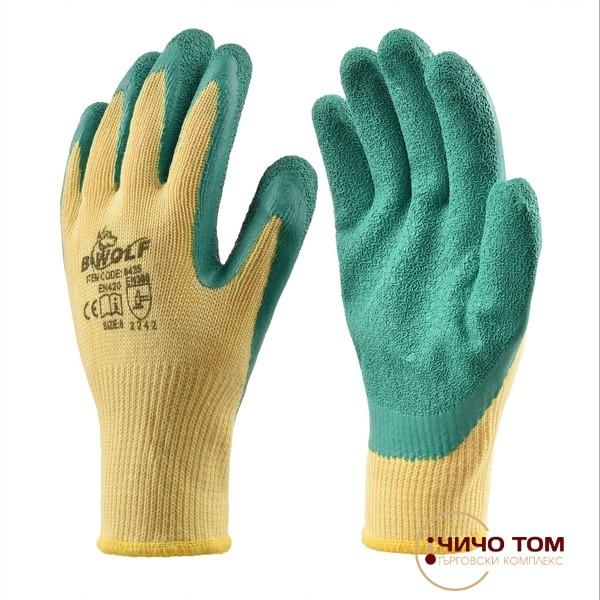 Ръкавици GRIP/ зелено и жълто/ 600000