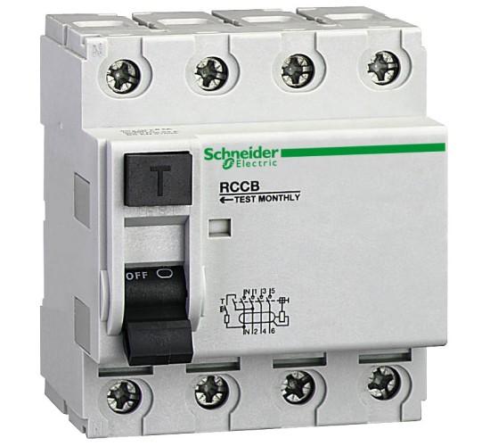 Дефектно-токова защита ID 4P 80A/30mA 23061