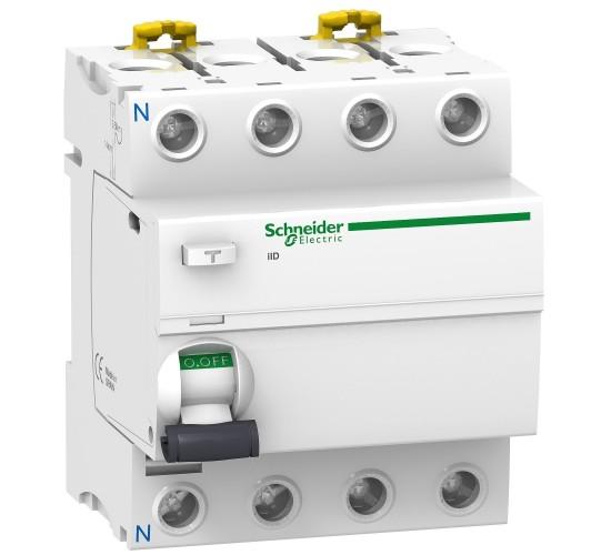 Дефектно-токова защита 4Р 25A 30mA 60012