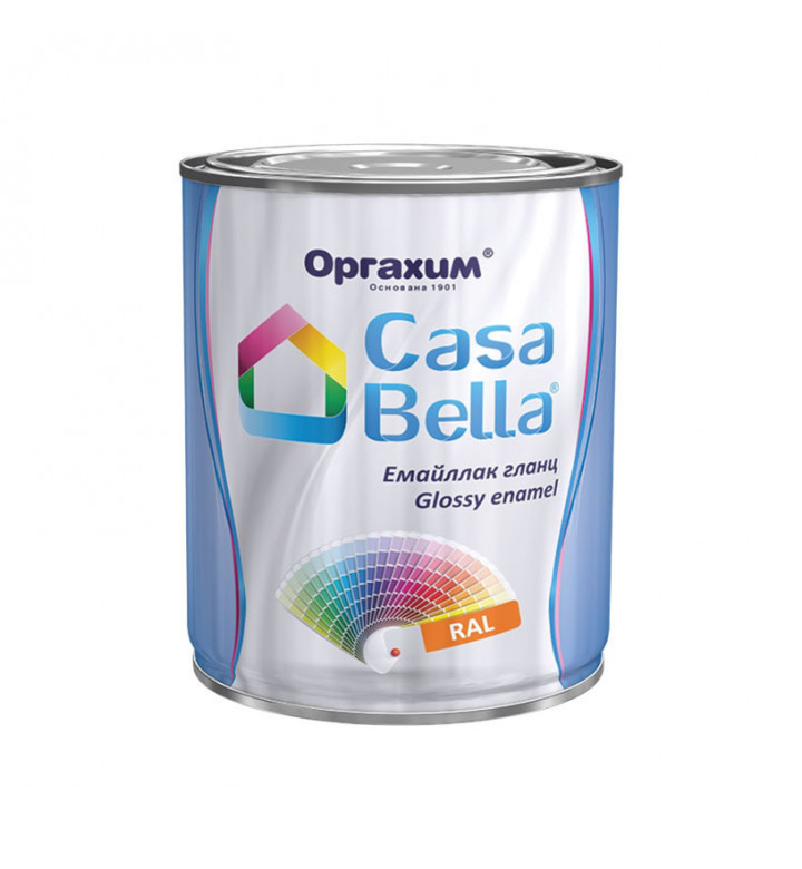 Casa Bella емайл гланц тъмно зелен 650мл 133284