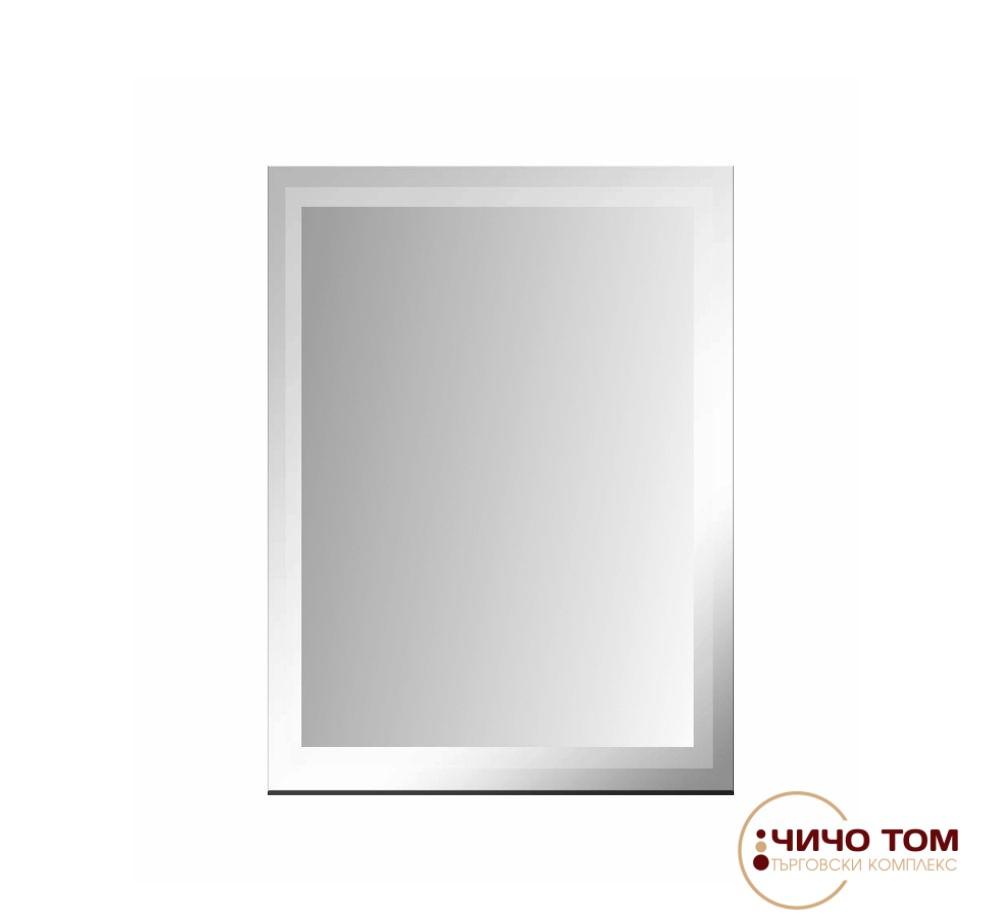 Огледало за баня с матиран борд / 60/40 см