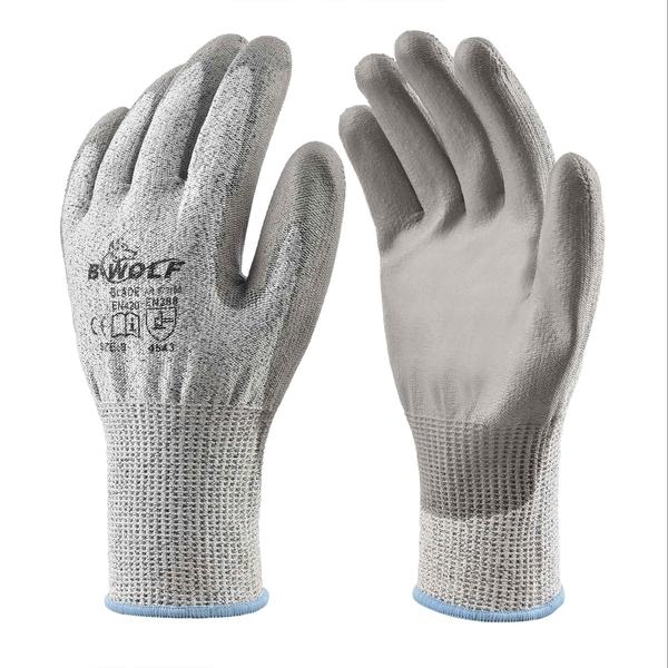 Ръкавици BLADE /сиви/ чифт /670100