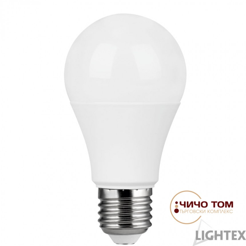 LED лампа A60 9W 220V E27 WW 3000K 810lm DOB драйв