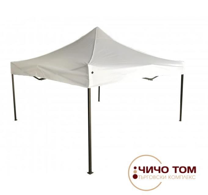 Градинска бяла шатра Pop-Up с 4 височини My Garden