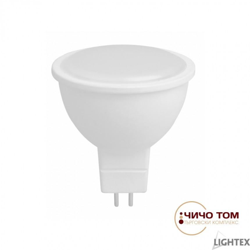 LED лампа Plastic 3W 12V AC/DC GU5.3 CW 6500K Ligh