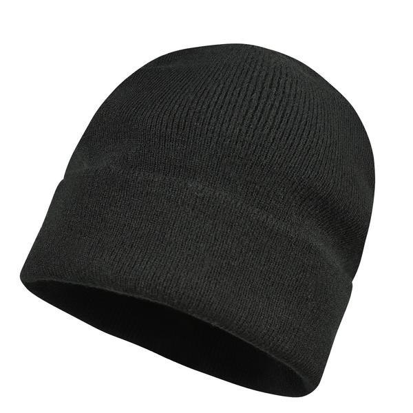 GLAZE плетена шапка /черна /180001