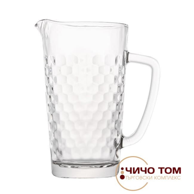Стъклена кана Friends Honeycomb /1L/