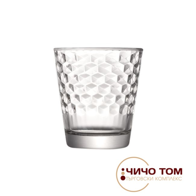 Комплект ниски чаши Friends Honeycomb /6бр/