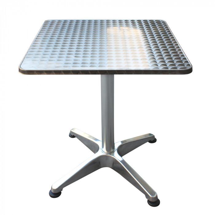Квадратна алуминиева маса Muhler OYS6119 60x60x74c