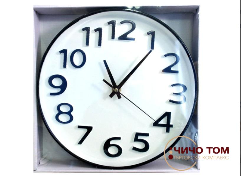 Стенен часовник Ф24см