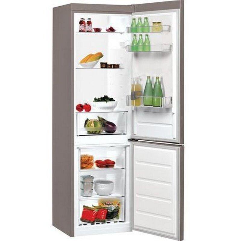 Хладилник с фризер Indesit LI7 S1E S , 308 l, F ,