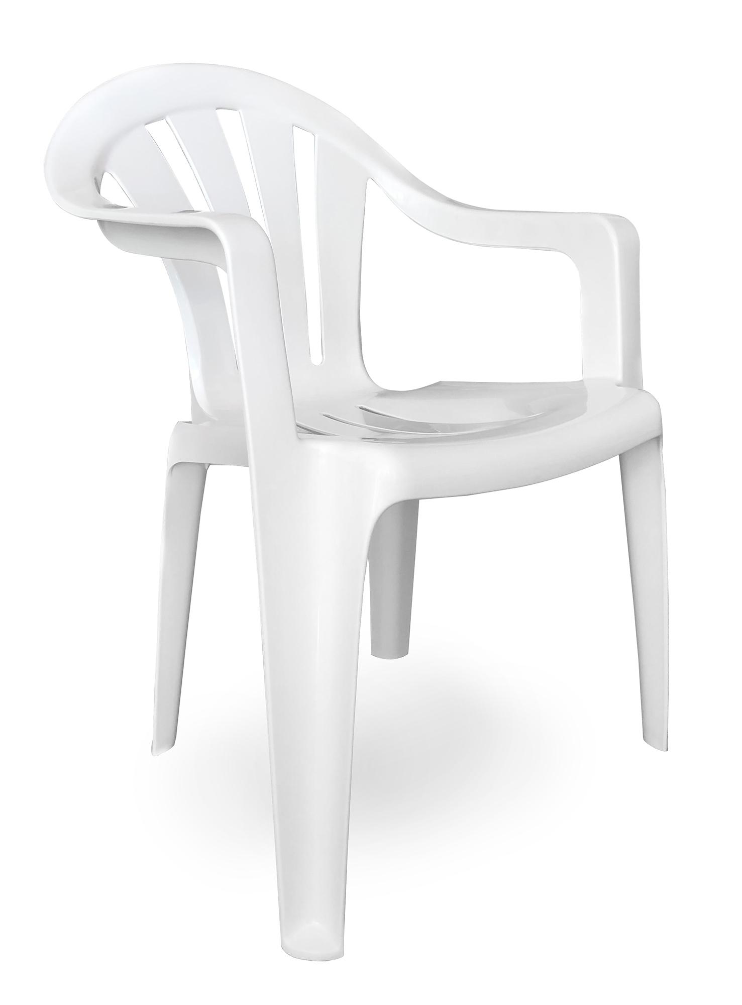 Пластмасов стол Vita /бял/