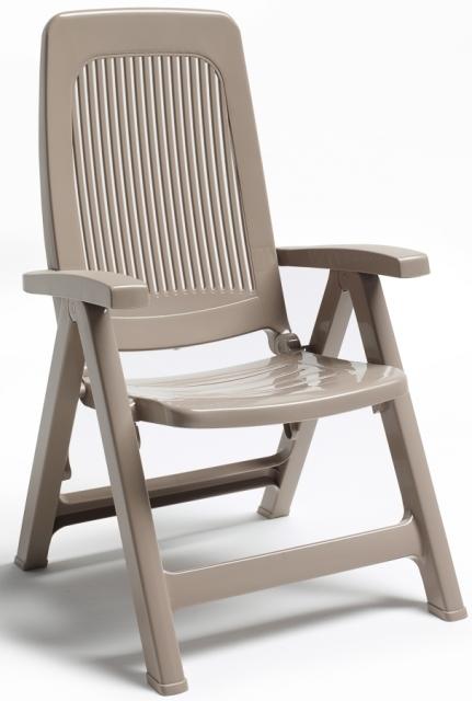 Сгъваем пластмасов стол Elegant /бежов/