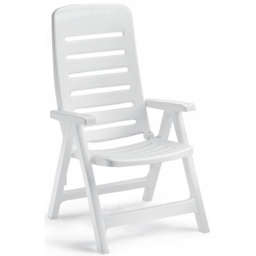 Сгъваем пластмасов стол Quintilla /бял/