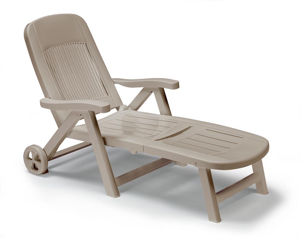 Сгъваем пластмасов стол California /бял/