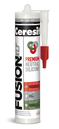 Ceresit Fusion Неутрален силикон бял 280мл
