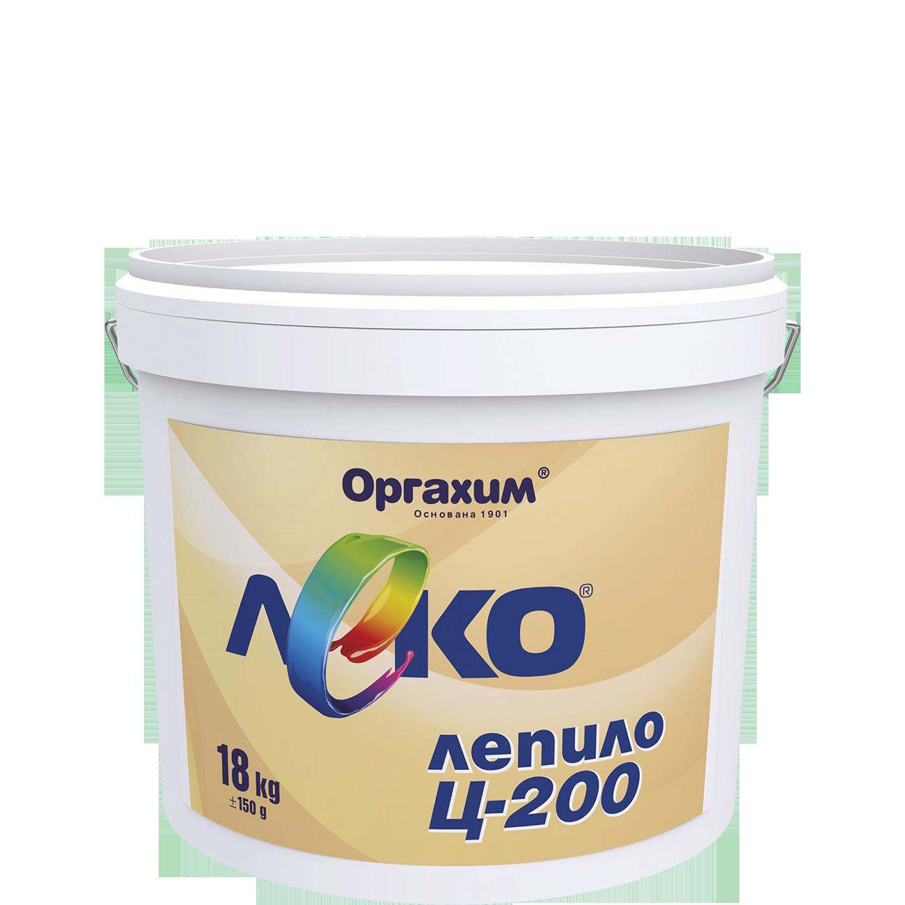 Лепило  С-200 1кг Оргахим