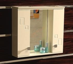Горен огледален шкаф 1034 60 БЕЖОВ 60Х13Х55