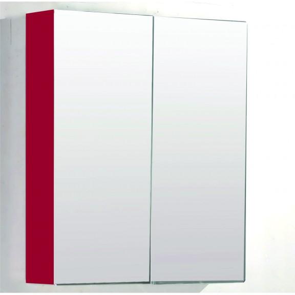 Горен огледален шкаф 7013 ЧЕРВЕН 60Х13