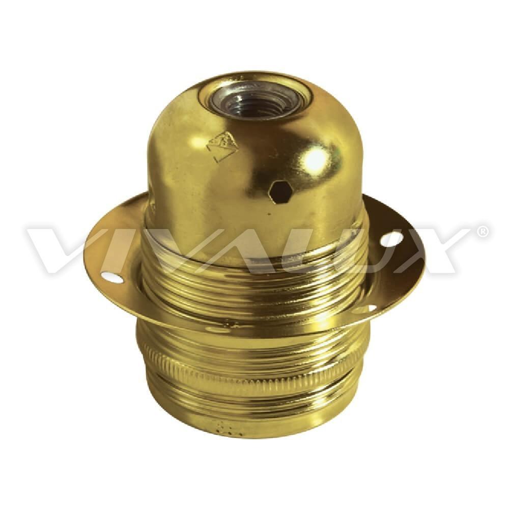 Декоративна фасунга с ринг злато 8200 Е/1 1612