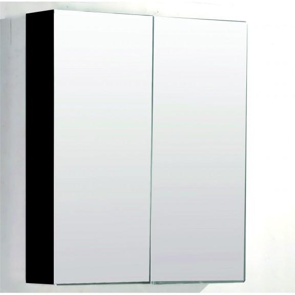 Горен огледален шкаф 7013 ЧЕРЕН