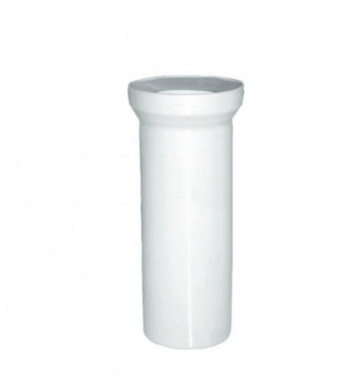 Тръба приборна за WC Ф110 права 400 КР40