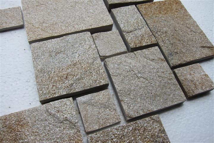 Гнайс обработени плочи с ширина 15см