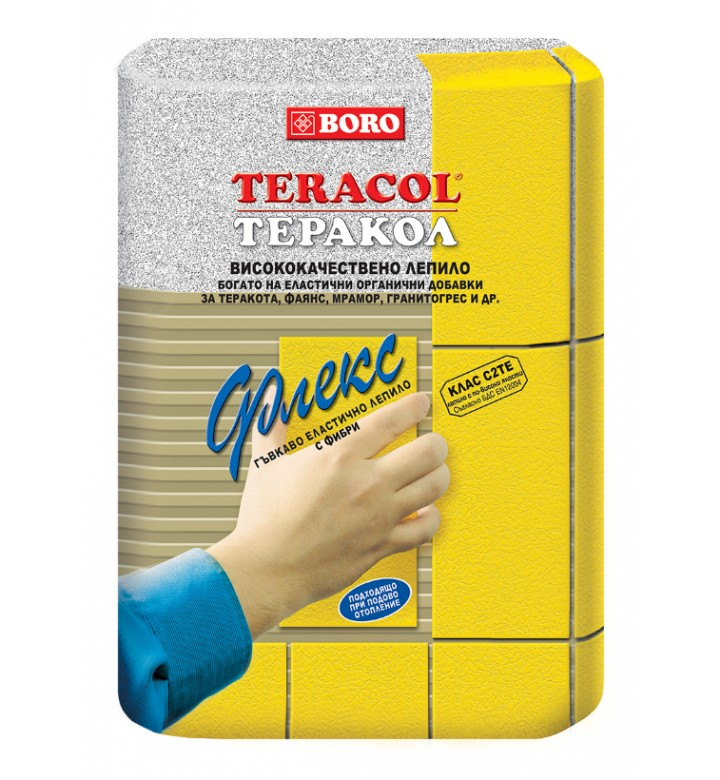 Теракол Лепило за плочки сиво 5кг