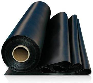Фолио 100/0100 тънко черно 4м
