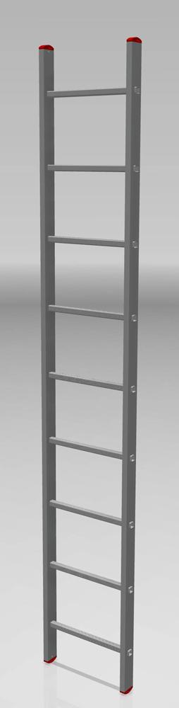 Алуминиева стълба 1х9 150КГ 3465315