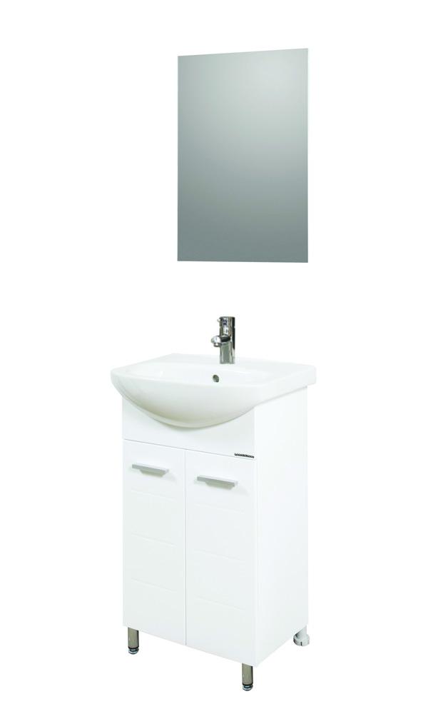 Мебел за баня с огледало Промо 3434910