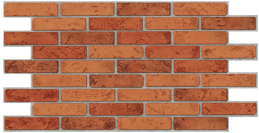 ПВЦ панел за стена 48/95.5 тухла натурал 3456789