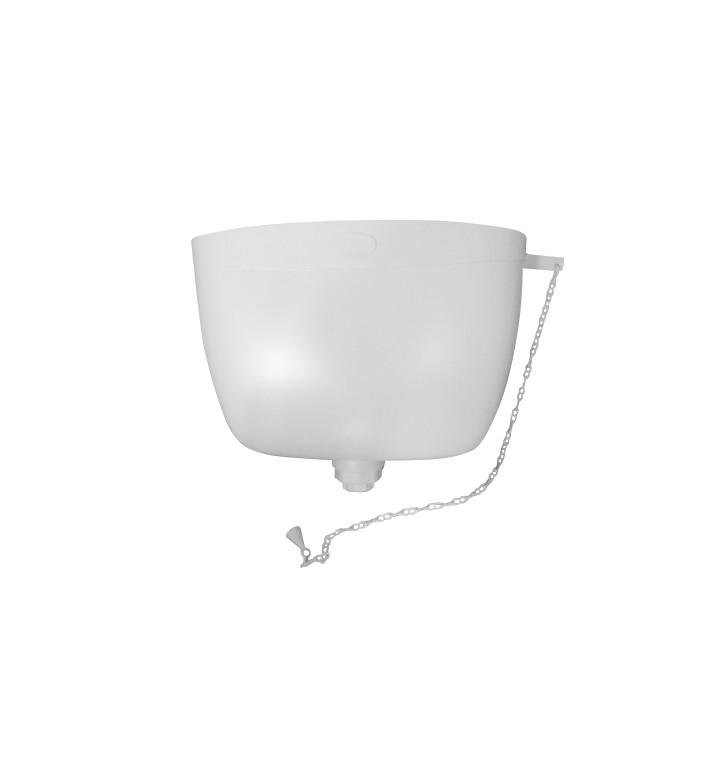 Тоалетно казанче висок монтаж бяло