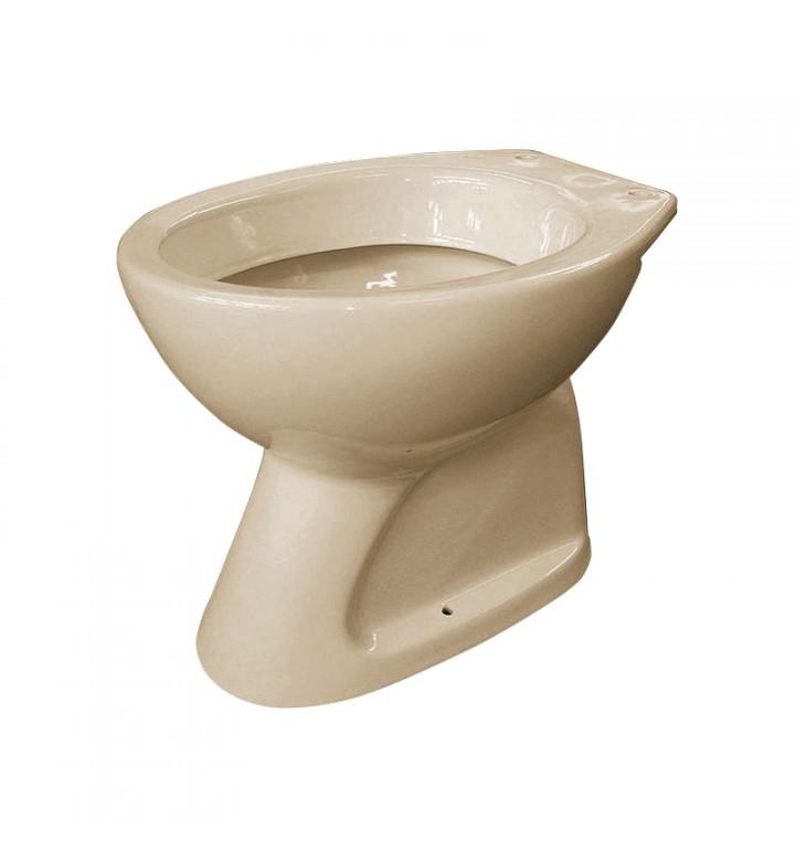 Тоалетно гърне бежово с долно изтичане