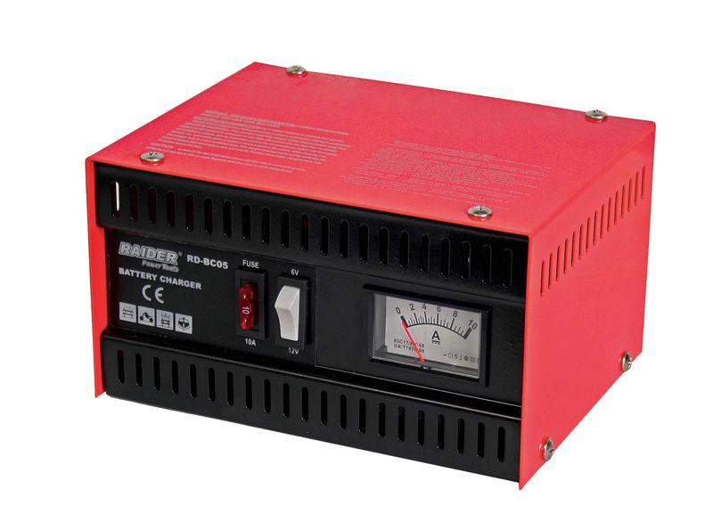 032201 Зарядно за акумулатор 6/12V 5A RD-BC05