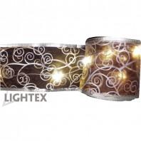 LED гирлянд 5м.50 LED 1.7W топло бял IP44