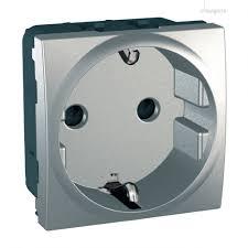 Контакт със защита алуминий Schneider 110319