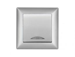 Ключ Гюнсан сх.1 светло сив светещ 401502