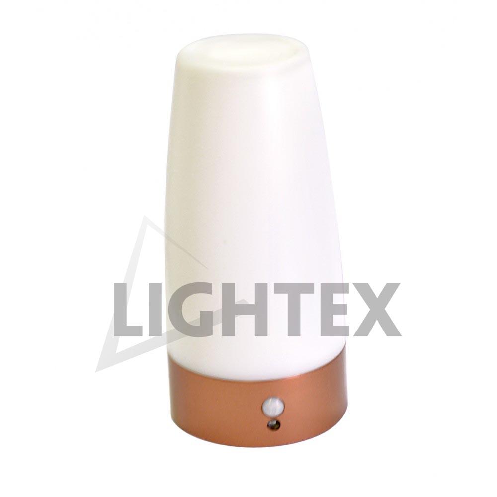 LED настолна лампа със сензор 1LEDx0.5W без батери