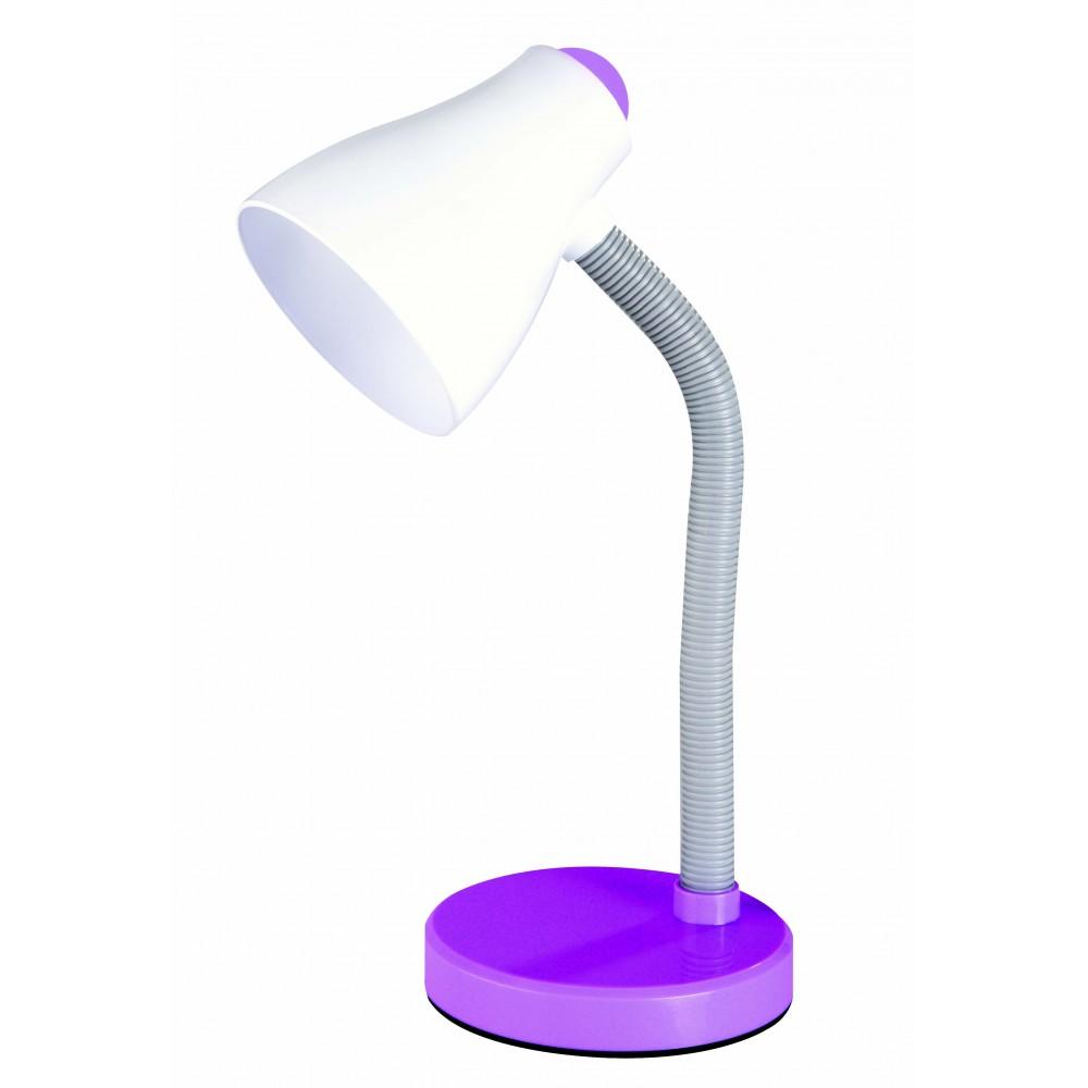 Настолна лампа SMILE лилава Е27 11W Desonia