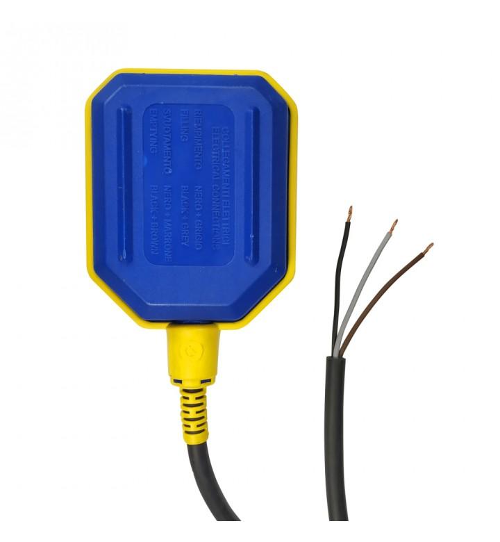 Поплавък с ключ 16А и 5м ПВЦ кабел 65106