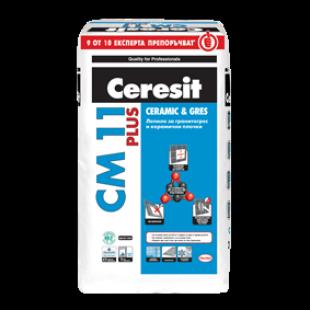 Лепило за гранитогрес и керамични плочки Ceresit С