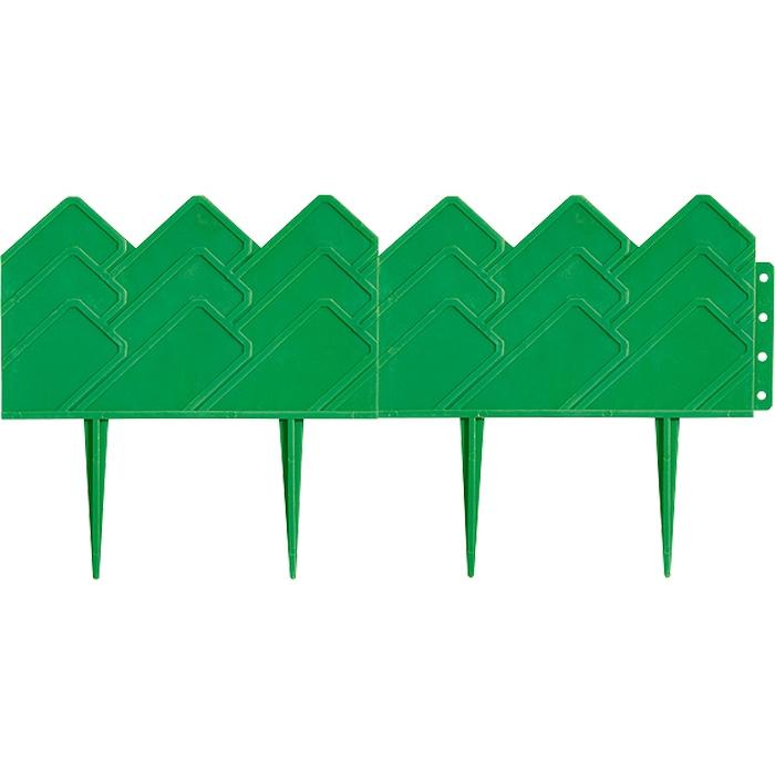 Бордюр градински Готика 14х30см зелен 65060