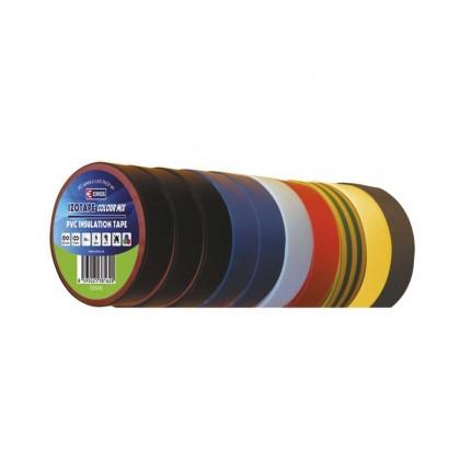 Изолирбанд 15мм/10м различни цветове 3199